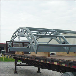 Rolled Tube Structural Canopies